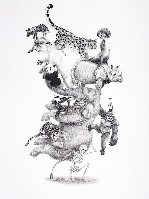 Tower Print