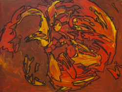 Abstract: Orange and Yellow
