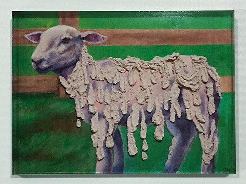Melting Sheep Magnet