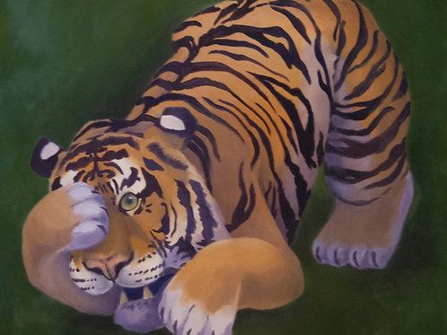 Terror (Tiger) Painting