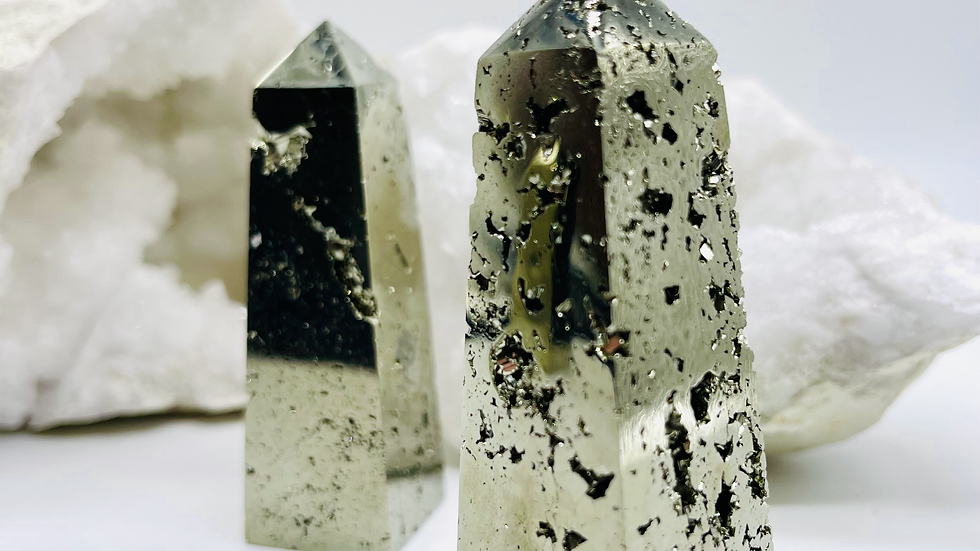 PYRITE CRYSTAL TOWER