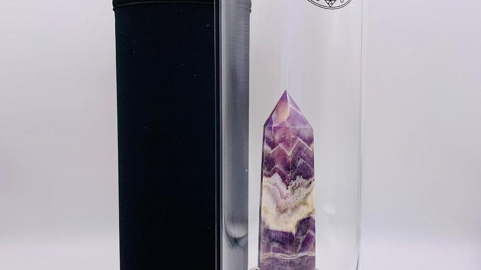 DIVINE CRYSTAL GLASS BOTTLE