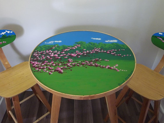 Red Bud Café Table