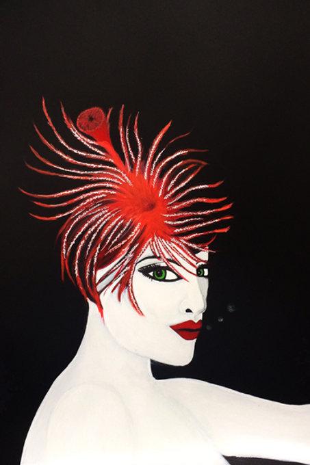 Sea Feather Mermaid