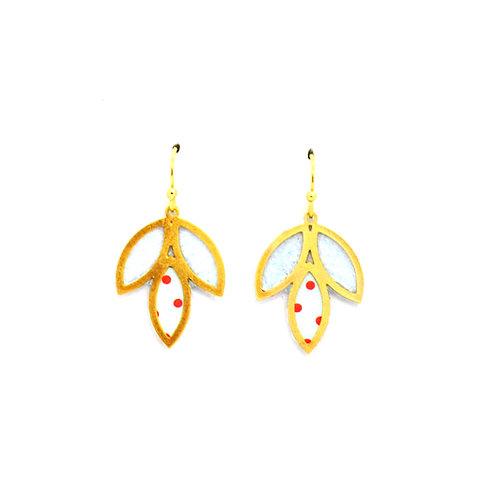 Ohrringe Blütenblätter_507