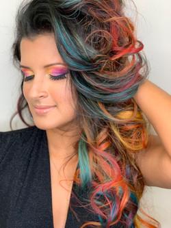 Hair by Lorraine Makeup by Krysta