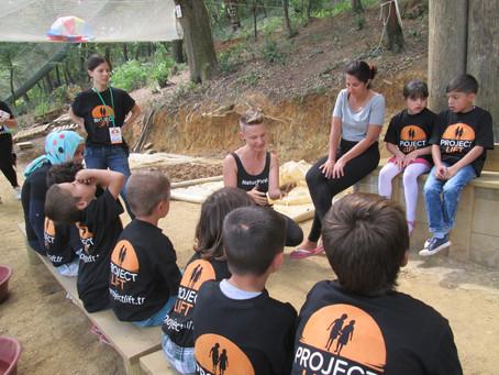 NaturPirat olarak Suriyeli mülteci çocukları ağırladığımız için çok mutluyuz… NaturPirat was h