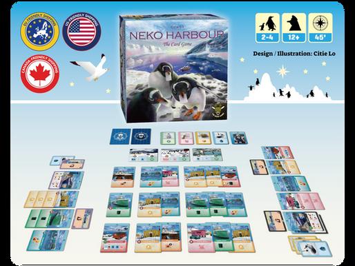 Neko Harbour: The Card Game soon on Kickstarter!
