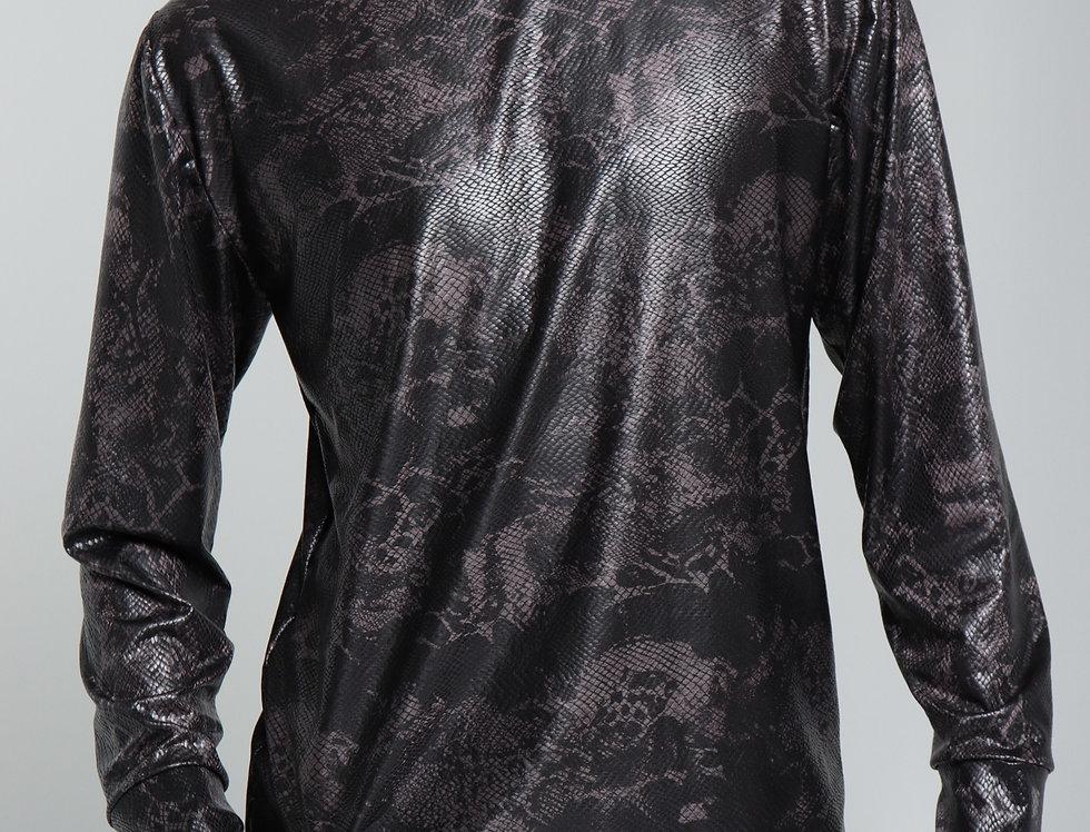 Untamed black long sleeves