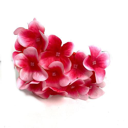 Pink flower mask