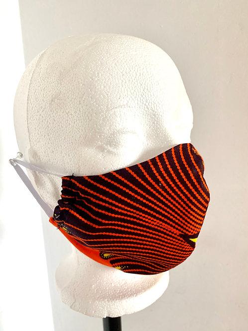 Orange Africanprint