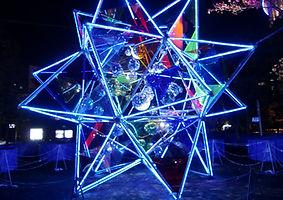 Synergytecチューブ型イルミネーション「CCL」@東京ドームシティ