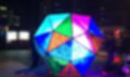 Synergytec LEDイルミネーション カレイドスコピックダイス