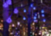 Synergytecフォール型イルミネーション「メテオ」@東京ドームシティ