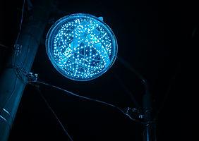 Synergytec球体イルミネーション「ルミナスドロップ」@四国電力街灯