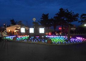 Synergytec球体イルミネーション「ルミナスナッツ」@須磨公園