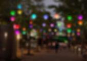 Synergytec球体イルミネーション「ルミナスナッツ」@東京ドームシティ