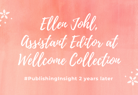 #PublishingInsight 2 years later: Ellen Johl