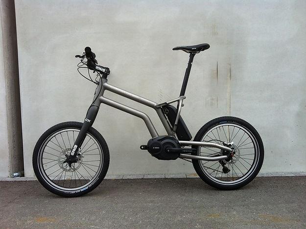 2012 Bosch titanium concept ebike