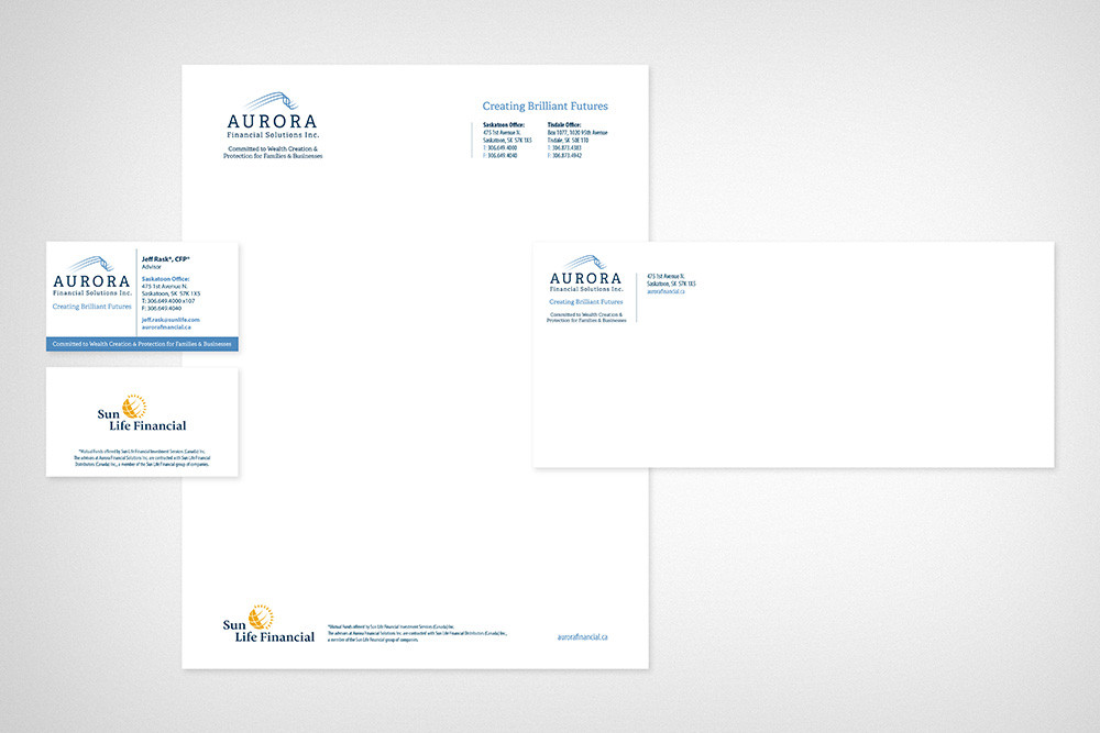 Aurora Stationery