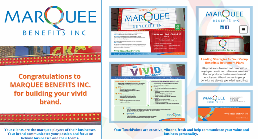 Congrats Marquee Benefits Inc.