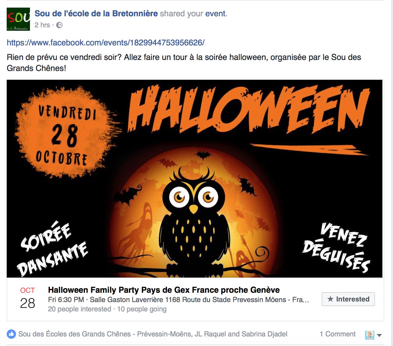 soutien ecole la bretonniere facebook