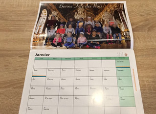 Calendriers 2017: stock disponible