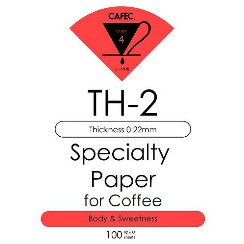 Cafec TH2 Özel Kahve Filtre Kağıdı (Tatlılık ve Gövde)