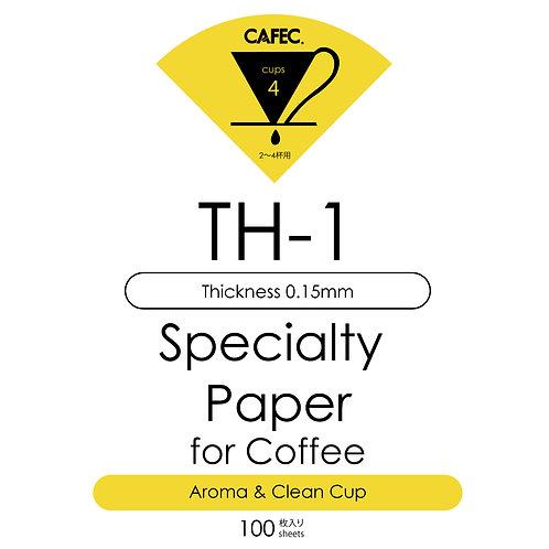 Cafec TH1 Özel Kahve Filtre Kağıdı (Aromatik ve Temiz )