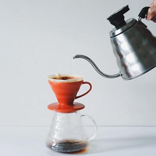 V60 Coffee Dripper   Seramik   Kırmızı
