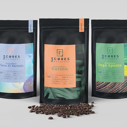 3 Nucleos De Colombia Kahve Deneme Seti