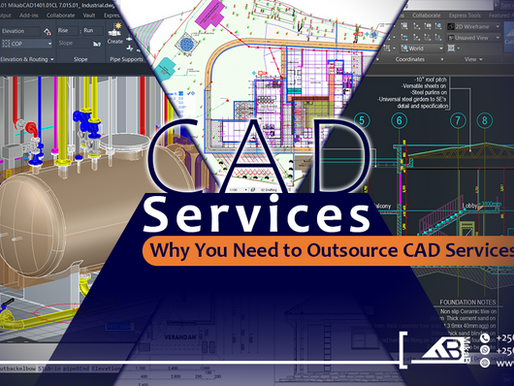 Why You Should Start Outsourcing Your Company's CAD Services.