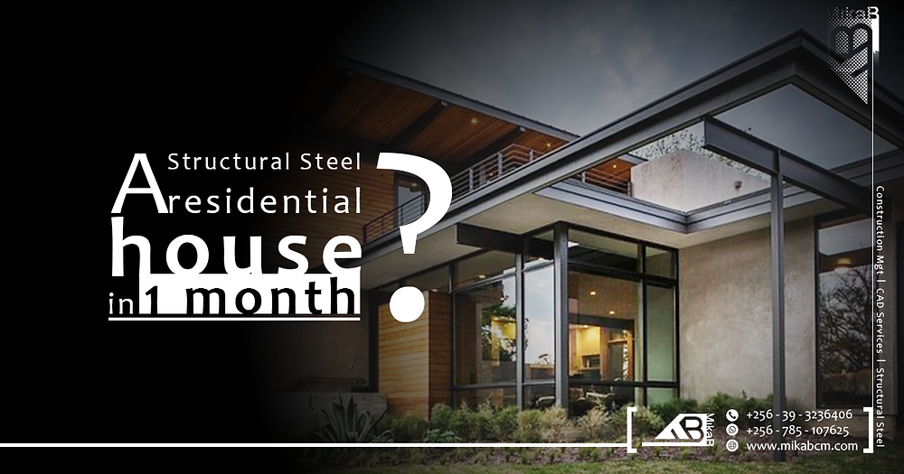Structural steel Residential house, Construction Management, CAD & Structural Steel Services