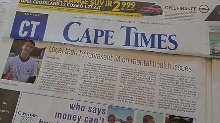 Cape Times 20 January 2020