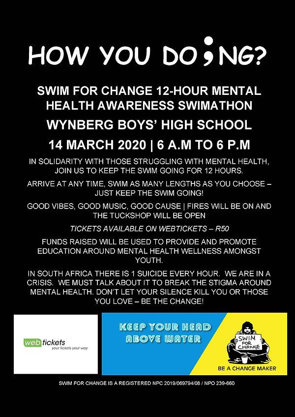SWIMATHON 14 March 2020