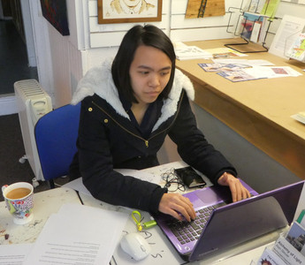 Graphic Design Student Begins Work Placement