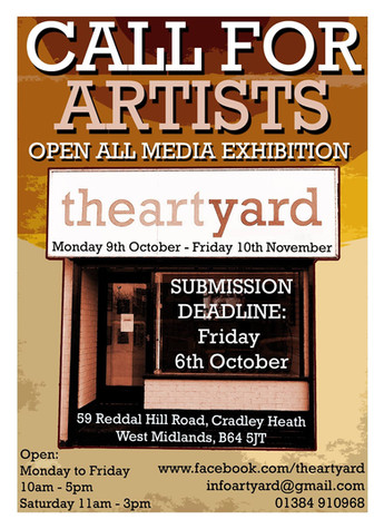 Second Call For Artists