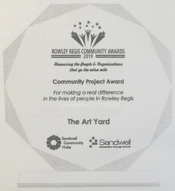 MFAA receives the first Rowley Regis Community Project Award