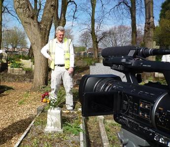 Filming begins on War Grave Short