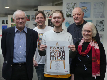 Poster competition precedes A Ewart Chapman heritage art exhibition