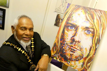Sandwell Mayor Reviews October's Exhibition