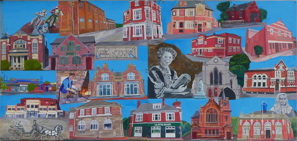 Cradley Heath Mural
