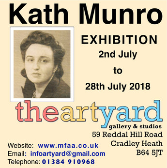 Tribute Exhibition to Kath Munro