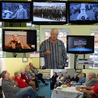 Local History Films at the Darby & Joan Club prove to be a hit!