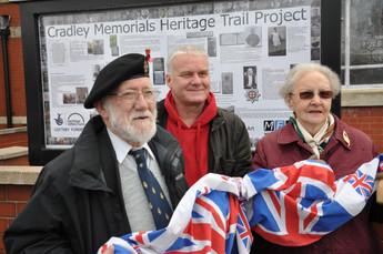 MFAA WW1 Commemoration Banner Unveiled