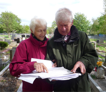 Mapping The Churchyard