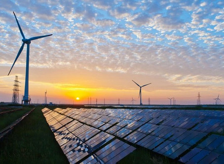 35 windturbines en 914 hectare zonneparken