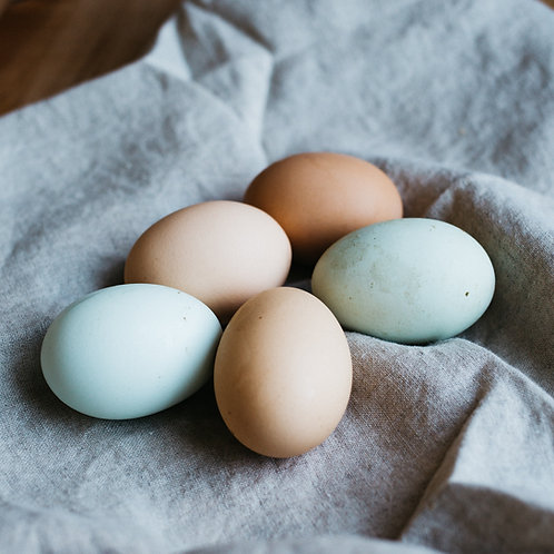 12 Small Eggs