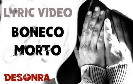 Lyric Video de Boneco Morto
