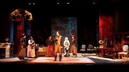 Cast near end of Act II